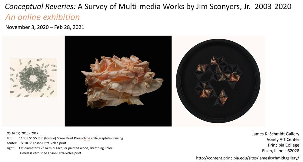 Jim Sconyers, Jr. Exhibition
