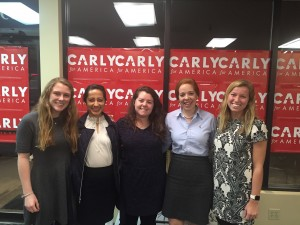 Volunteering for Carly