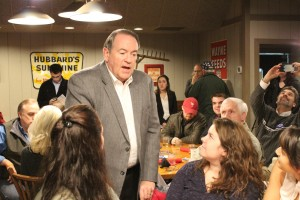 Mike Huckabee campaign event
