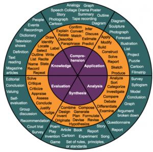 Bloom Taxonomy Circle