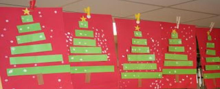Paper-Strip Christmas Tree – Principia Acorn