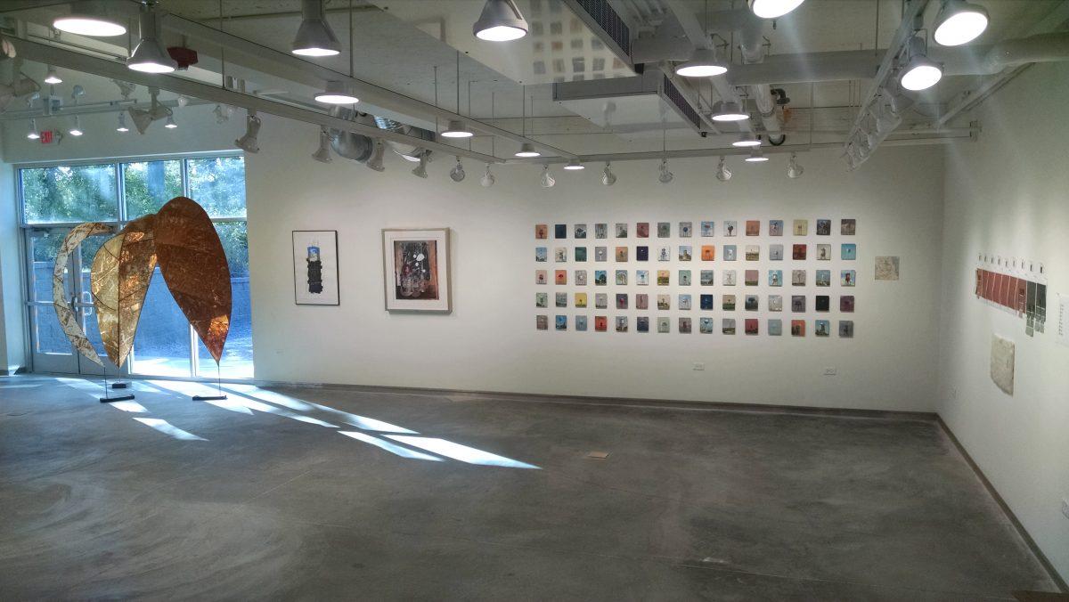 Studio Art Faculty Exhibition, August 28 – September 29, 2017
