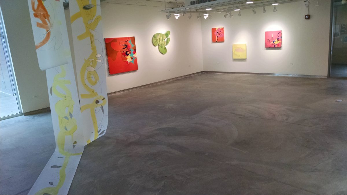 Out here boundless: Drawings and Paintings by Ron Johnson, February 13 – March 16, 2018