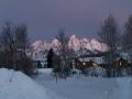 Sunrise on the Tetons